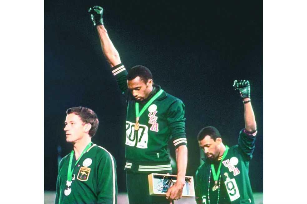 El 'Poder Negro', recuerdo de una protesta simbólica