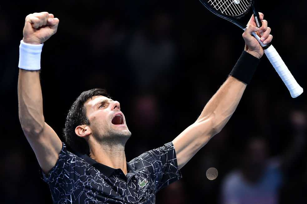 Djokovic cumplió sin sobresaltos ante Isner en el Masters