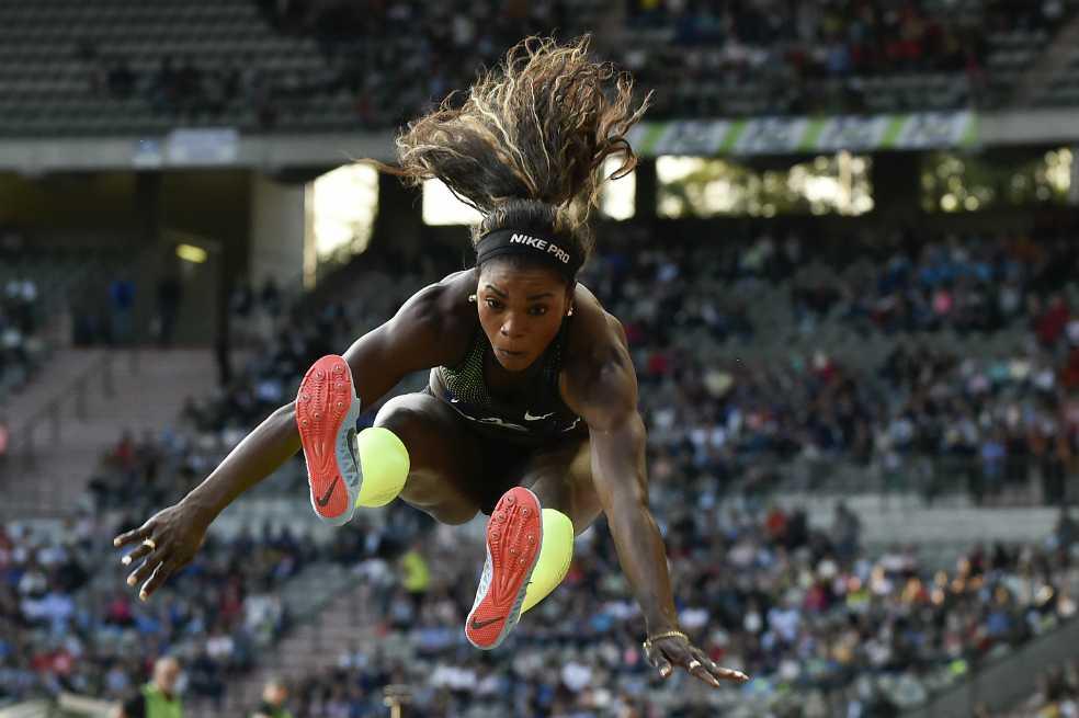 Caterine Ibargüen, entre las cinco candidatas a mejor atleta del año