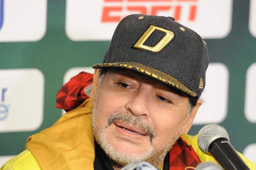 Maradona pide que le den a Boca Juniors la Copa Libertadores