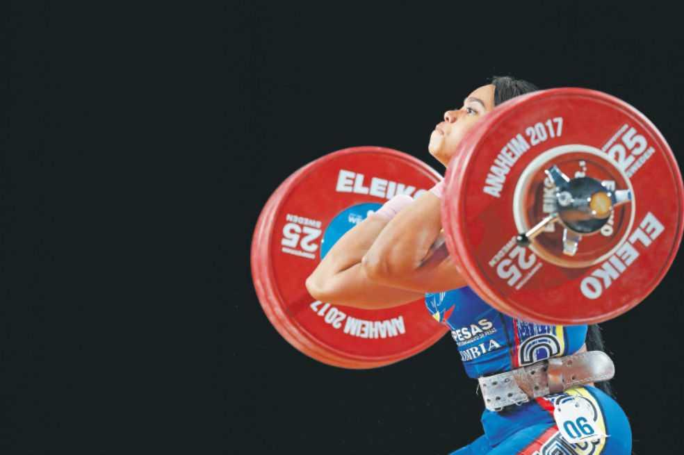 Leidy Solís, bronce en envión en el Mundial de Pesas