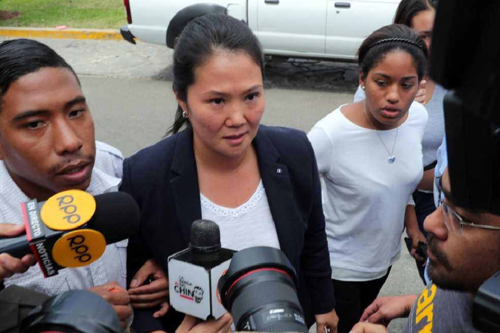 Sistema de almacenamiento de Odebrecht confirmó aportes a campaña de Keiko Fujimori
