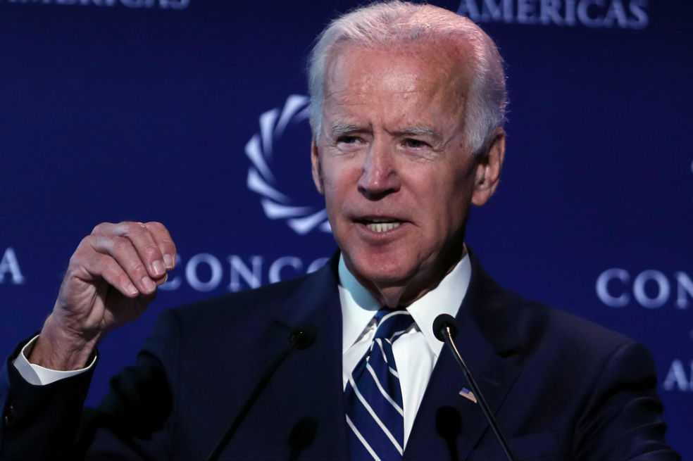 Joe Biden se lanza al ruedo y dice estar apto para ser presidente de Estados Unidos