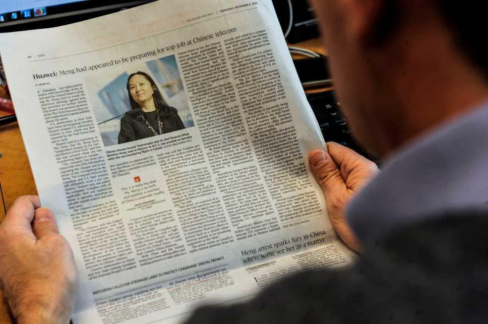 La directora financiera de Huawei pide por su libertad ante un juez en Vancouver