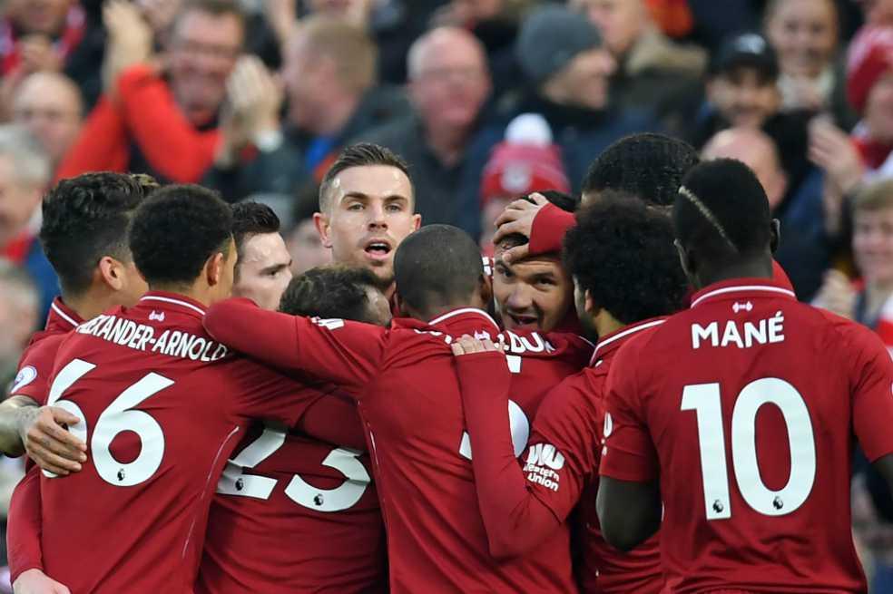 El Liverpool de Klopp se consolida como líder de la Premier League