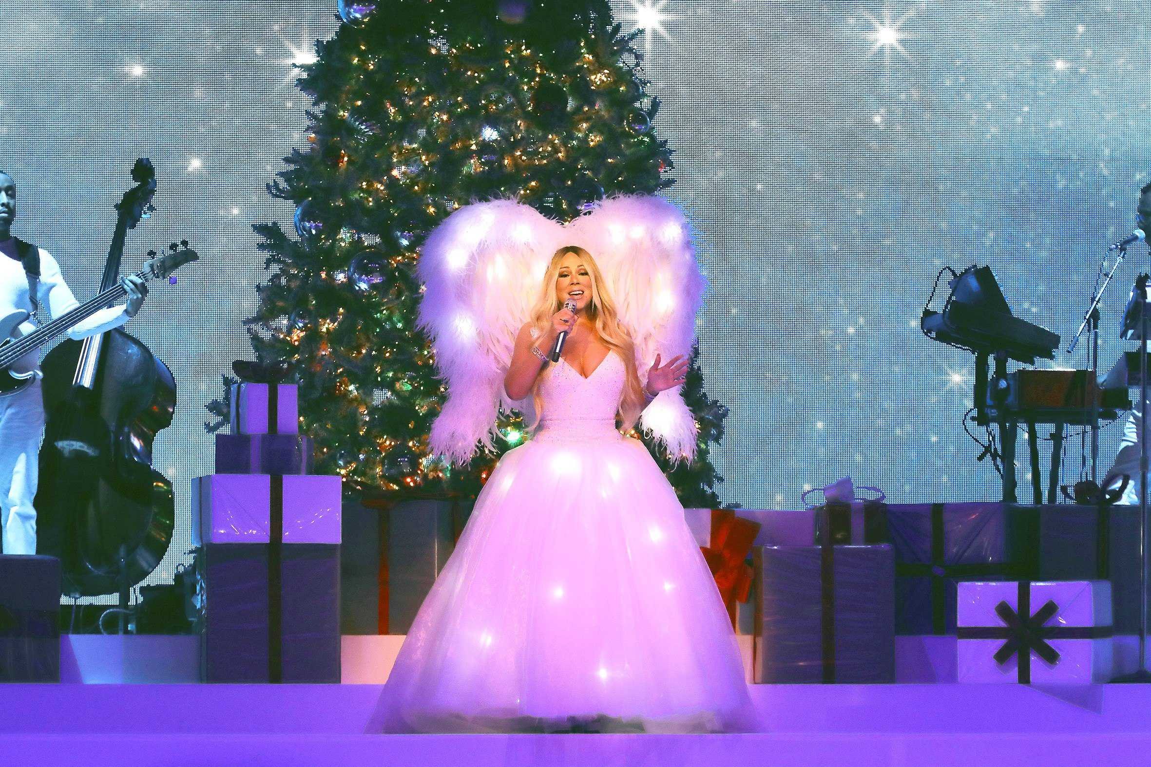 Mariah Carey bate récord en Spotify con villancico «All I want for Christmas is you»