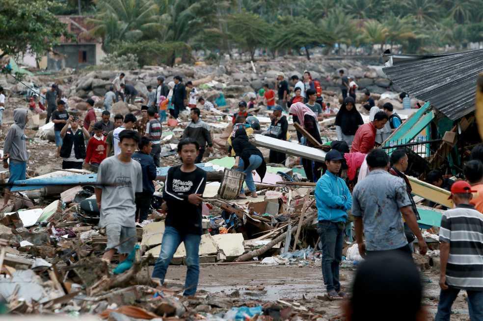 ¿Por qué hubo tantos desastres naturales en Indonesia este año?