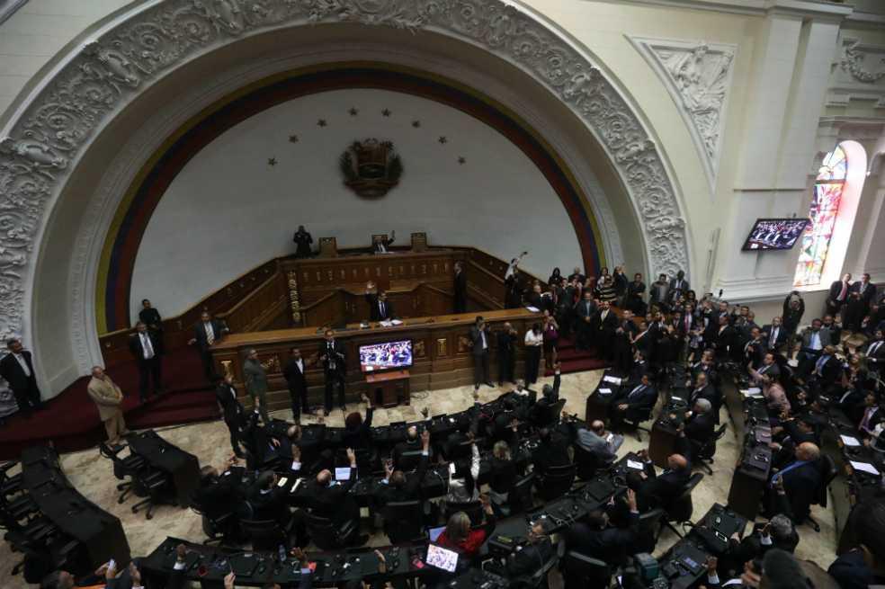 Miembro de Constituyente venezolana propone la disolución de la Asamblea Nacional