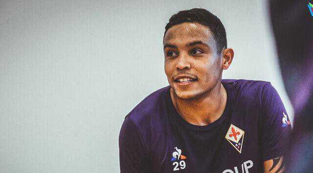 Muriel debutó con triplete con la Fiorentina