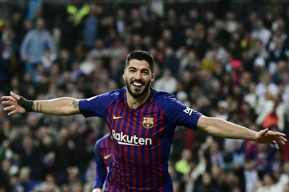 Luis Suárez: «Contra el Real Madrid nos salió un partido redondo»