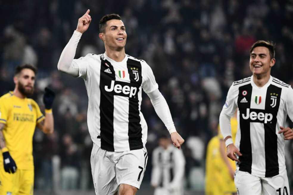 Cristiano anota de nuevo y Juventus vuelve a ganar en la Serie A