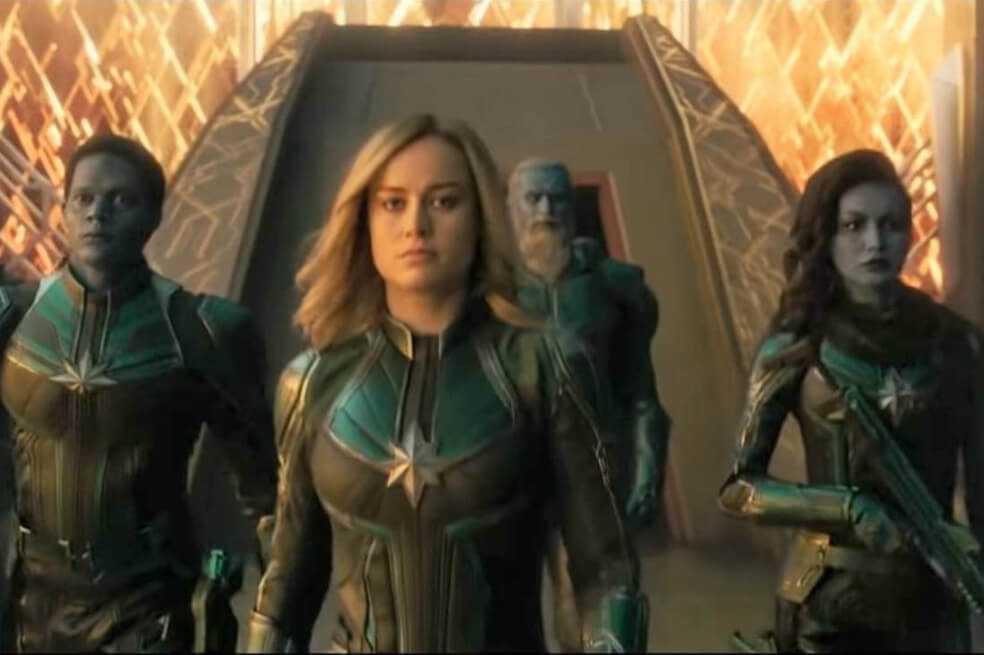 El guiño feminista de «Capitana Marvel»