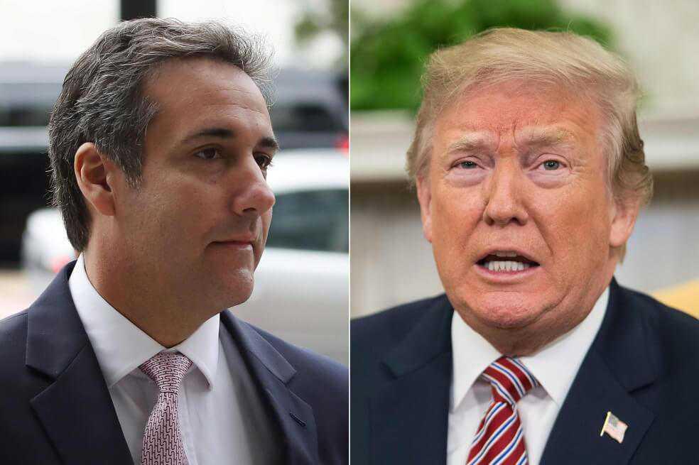 Trump le respondió a Michael Cohen por declaración en su contra. ¿Qué le dijo?