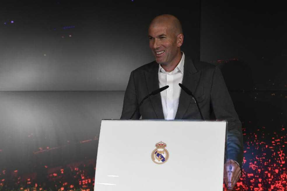 """""""Si pensara que es un riesgo no habría vuelto"""": Zidane"""