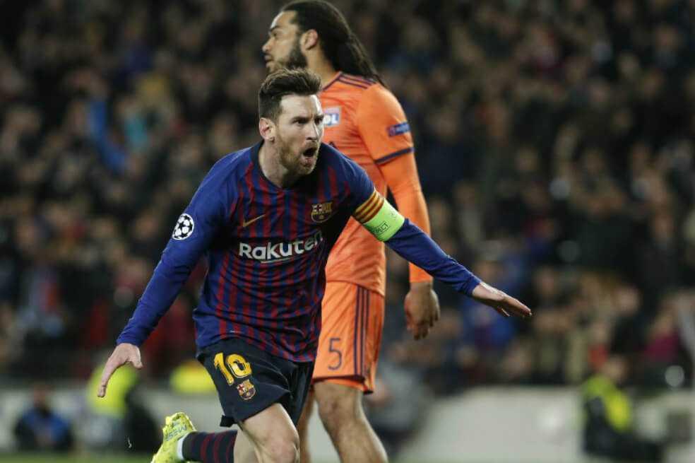 Barcelona, a cuartos de la Champions con nueva exhibición de Messi