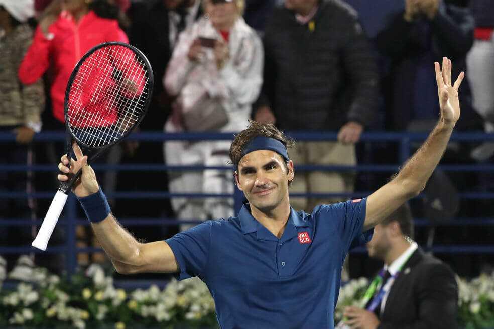 El suizo Roger Federer quedó a un partido de su título 100