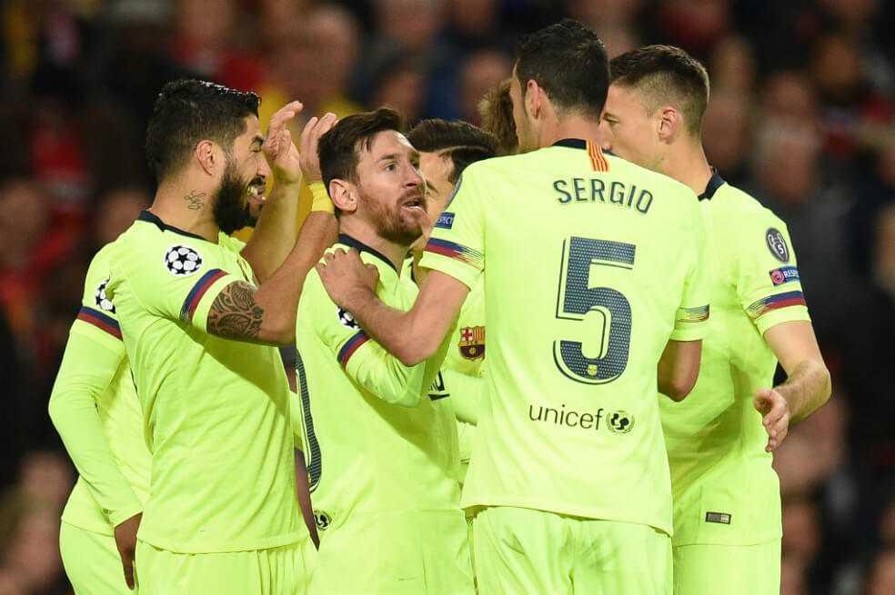 Barcelona sacó ventaja en Old Trafford: venció 1-0 al United