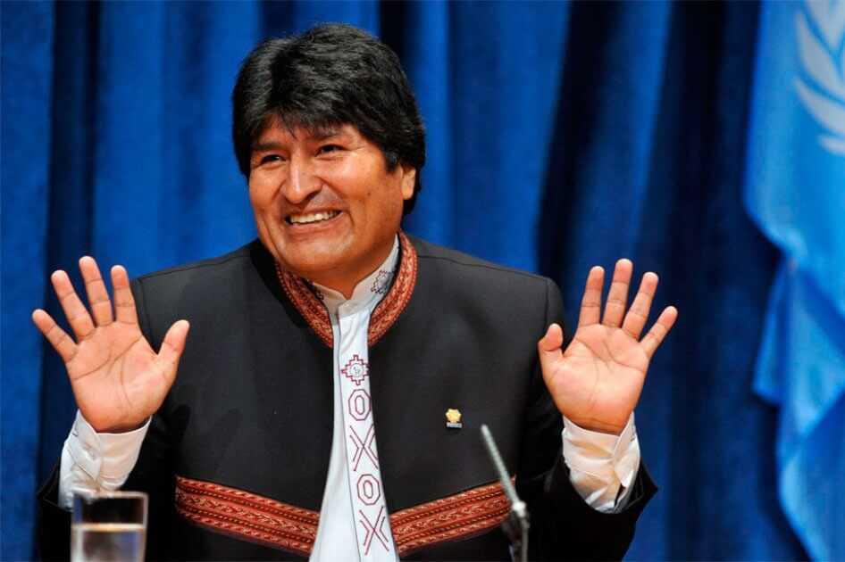 Evo Morales respalda a Duque ante críticas de Trump