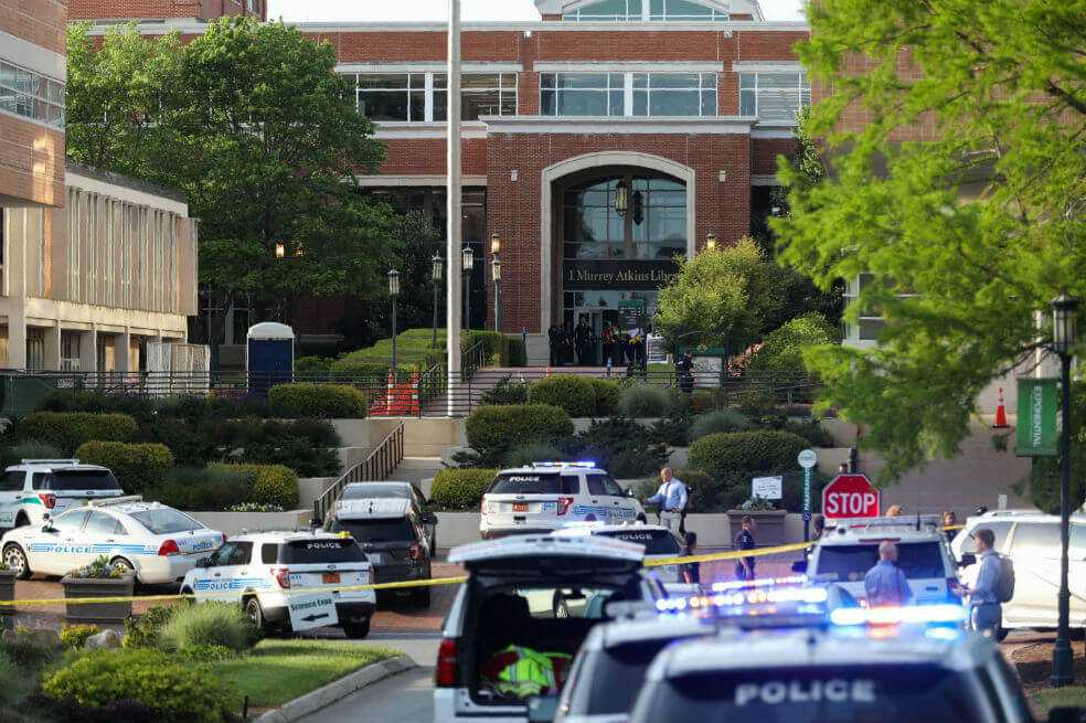 Tiroteo en Universidad de Carolina del Norte deja por lo menos dos muertos