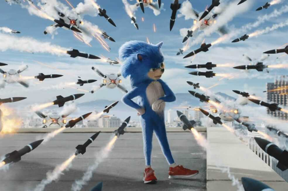 El primer tráiler de «Sonic: la película» genera polémica entre sus fans