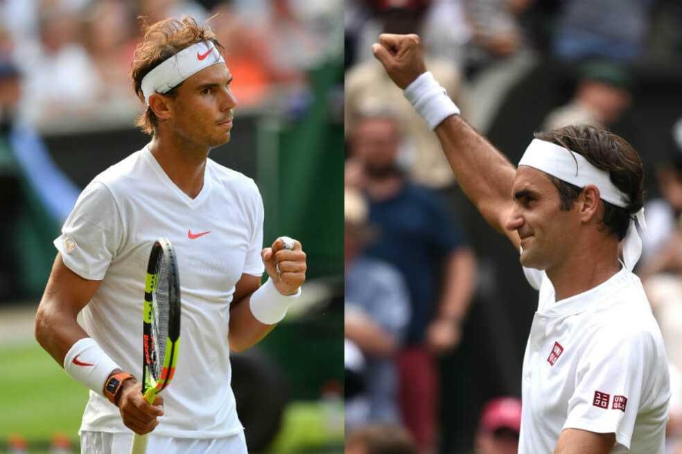 Nadal y Federer irán por la misma parte del cuadro en Roland Garros