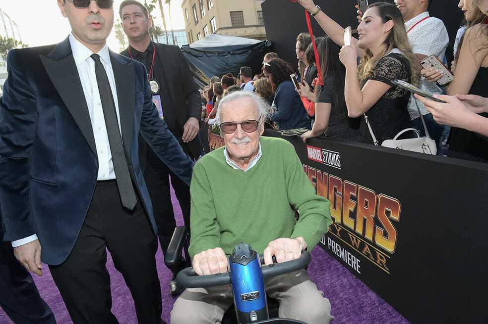 Exmánager de Stan Lee, detenido por robo y abuso de debilidad hacia el magnate de Marvel