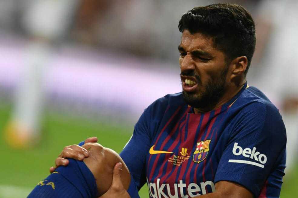 Luis Suárez se podría perder la Copa América