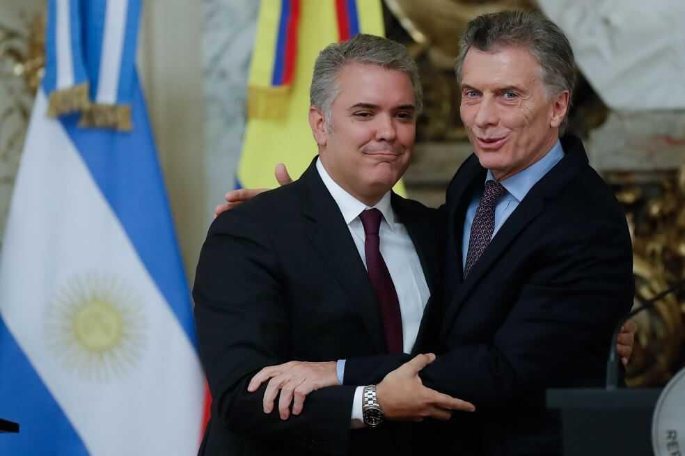 ¿De qué hablaron Iván Duque y Mauricio Macri en Buenos Aires?