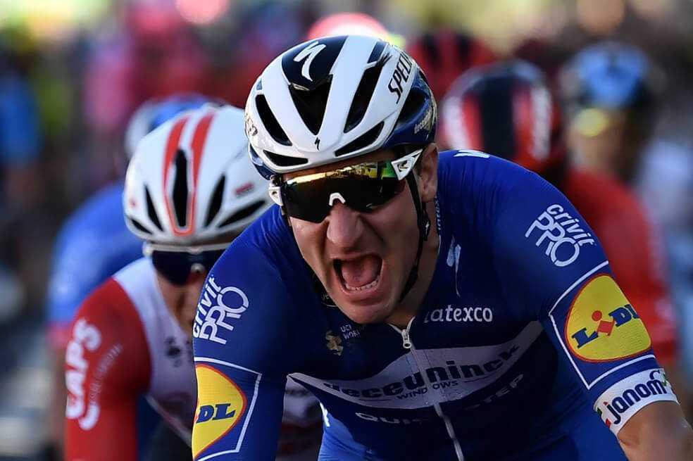 Tour de Francia: Elia Viviani ganó la cuarta etapa