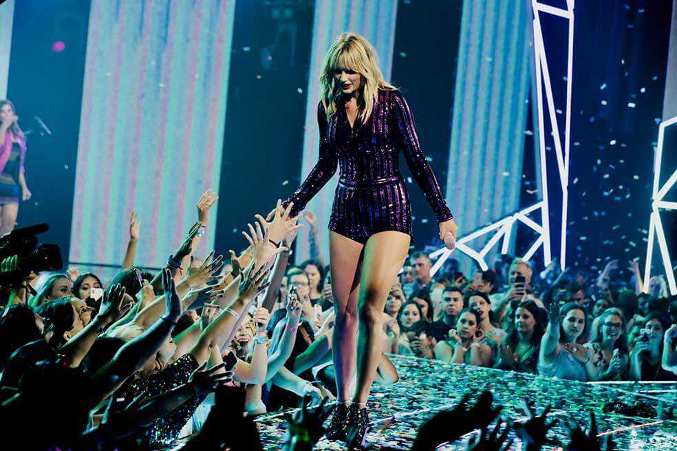 Taylor Swift, la celebridad mejor pagada del mundo