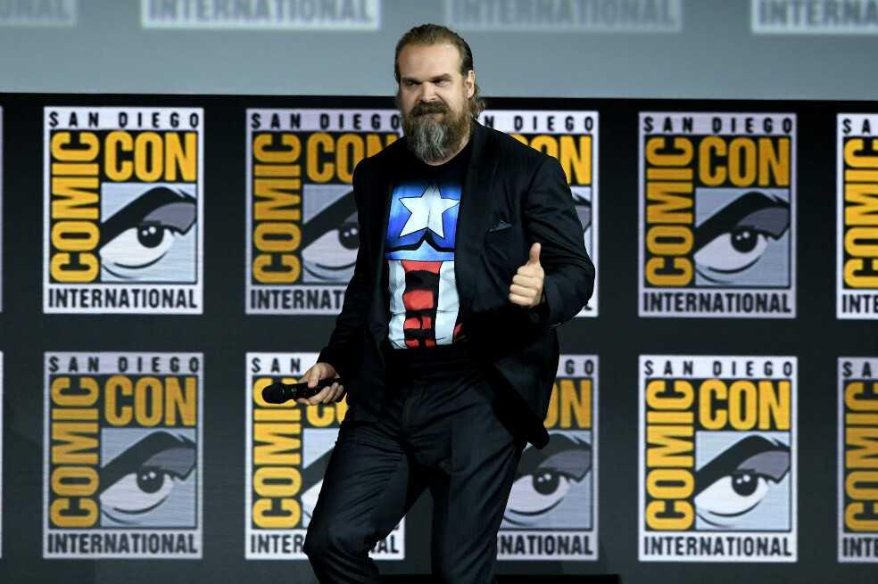 Este será el papel de David Harbour en la próxima película de «Viuda Negra»