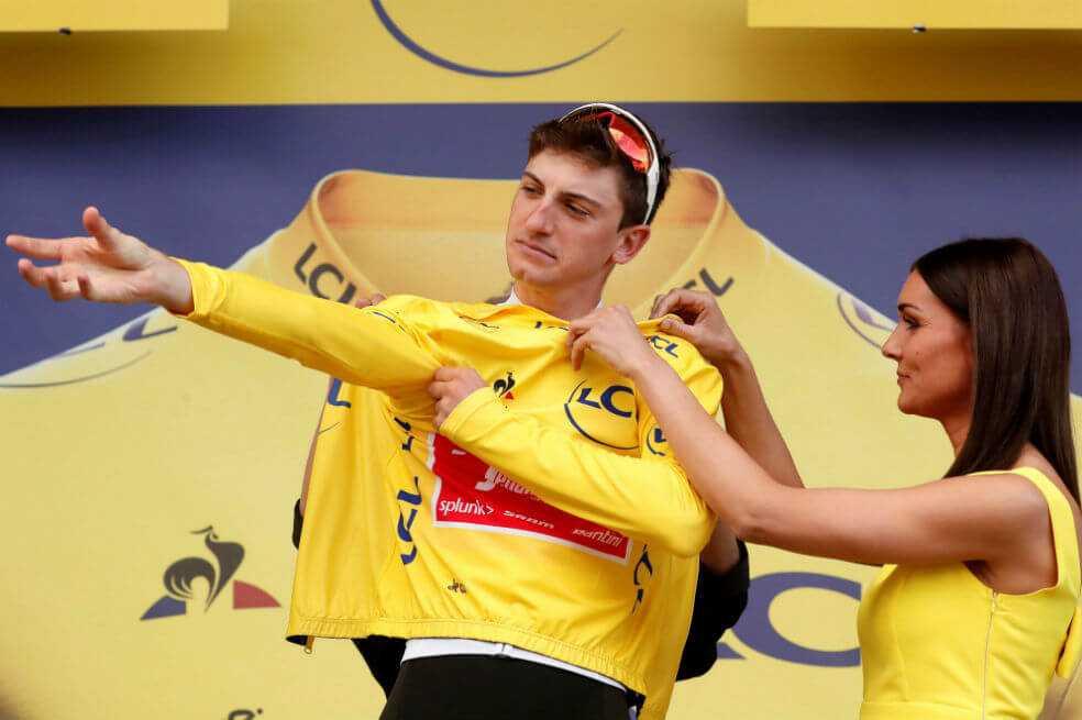 ¿Quién es Giulio Ciccone, el nuevo líder del Tour de Francia?