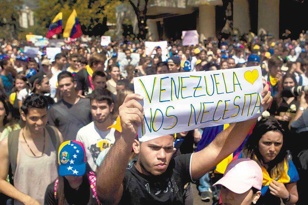 Diálogo entre gobierno y oposición no entusiasma a los venezolanos