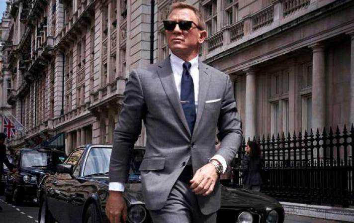 Daniel Craig y la primera imagen de James Bond