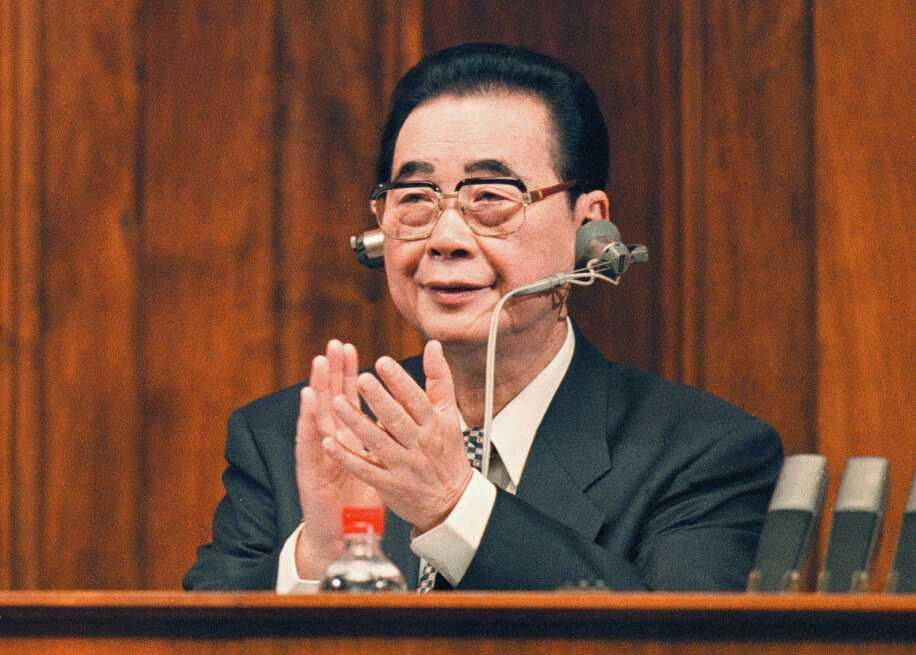 ¿Quién fue Li Peng, el llamado «carnicero de Pekín»?