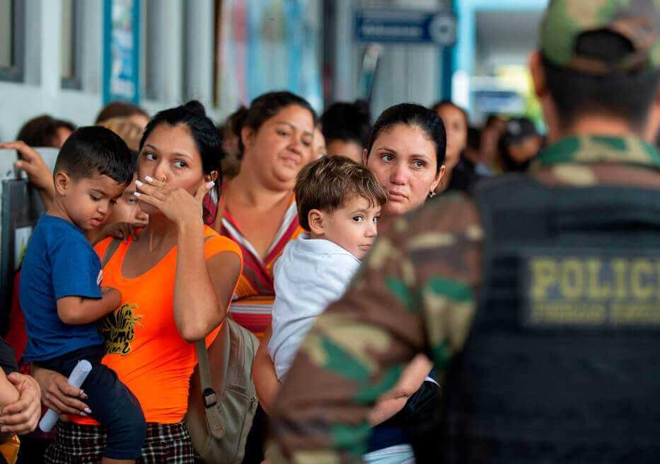 400 migrantes venezolanos residentes en Ecuador regresarán en julio a su país