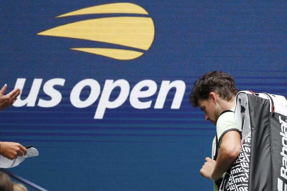Siguen las sorpresas en el US Open: Thiem y Tsitsipas quedaron eliminados