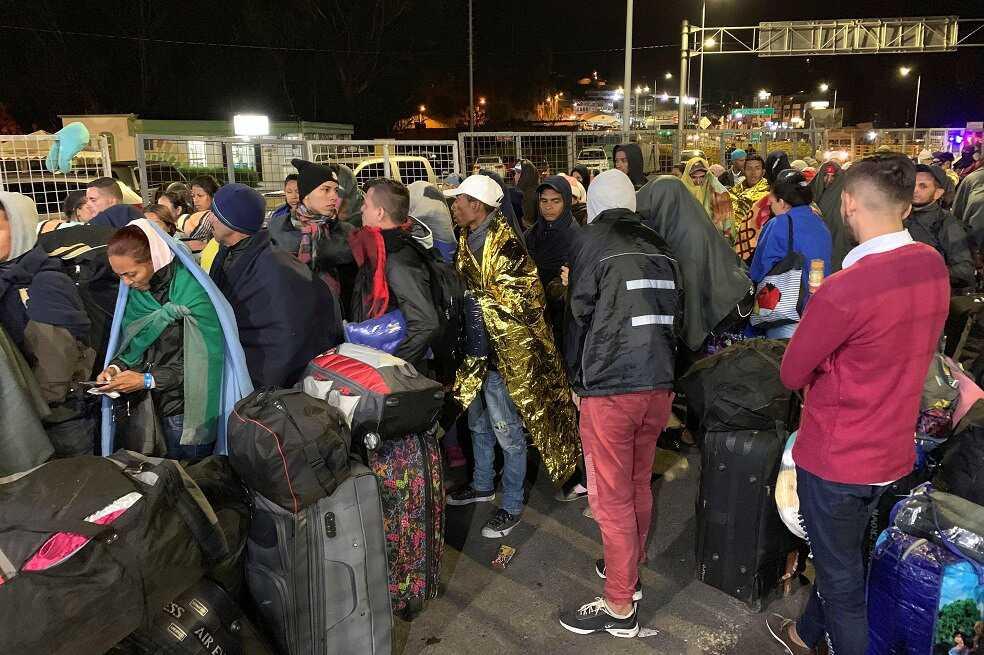 Cerca de 13.000 venezolanos ingresaron a Ecuador durante el último fin de semana