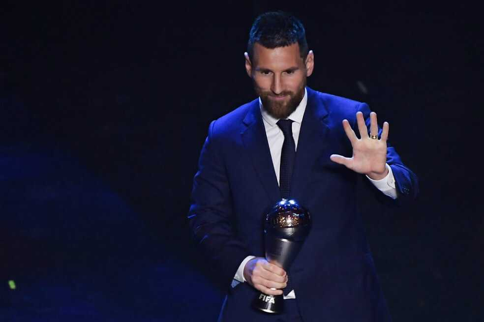 Messi ganó el premio The Best de la Fifa 2019