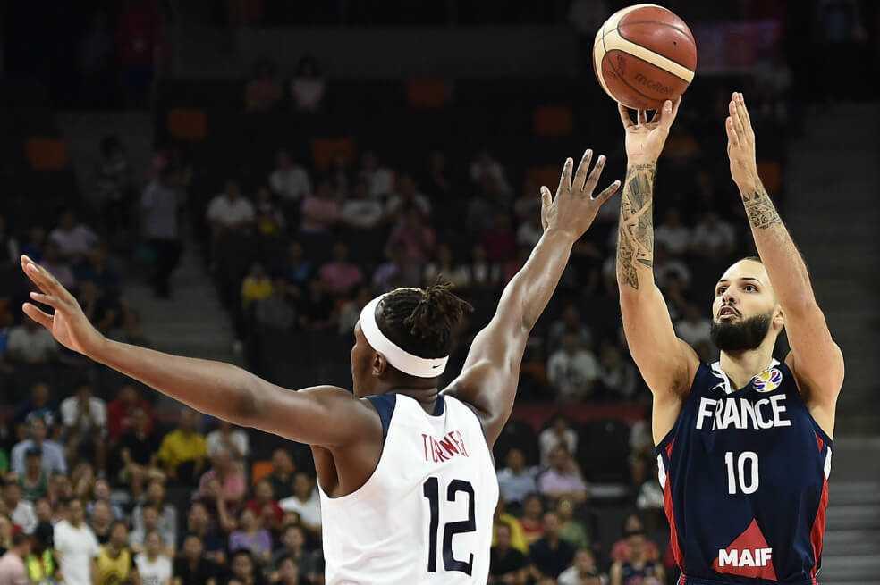 Sorpresa en el Mundial de Baloncesto, Francia eliminó a Estados Unidos