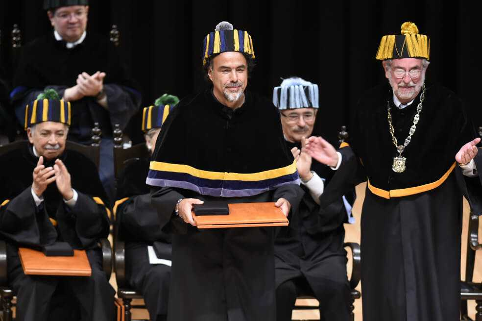Alejandro González Iñárritu, doctor honoris causa de la UNAM
