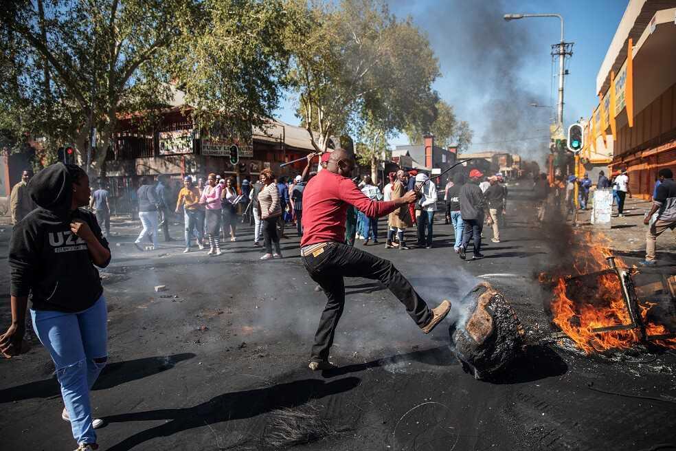 La oleada de ataques xenófobos que invade a Sudáfrica