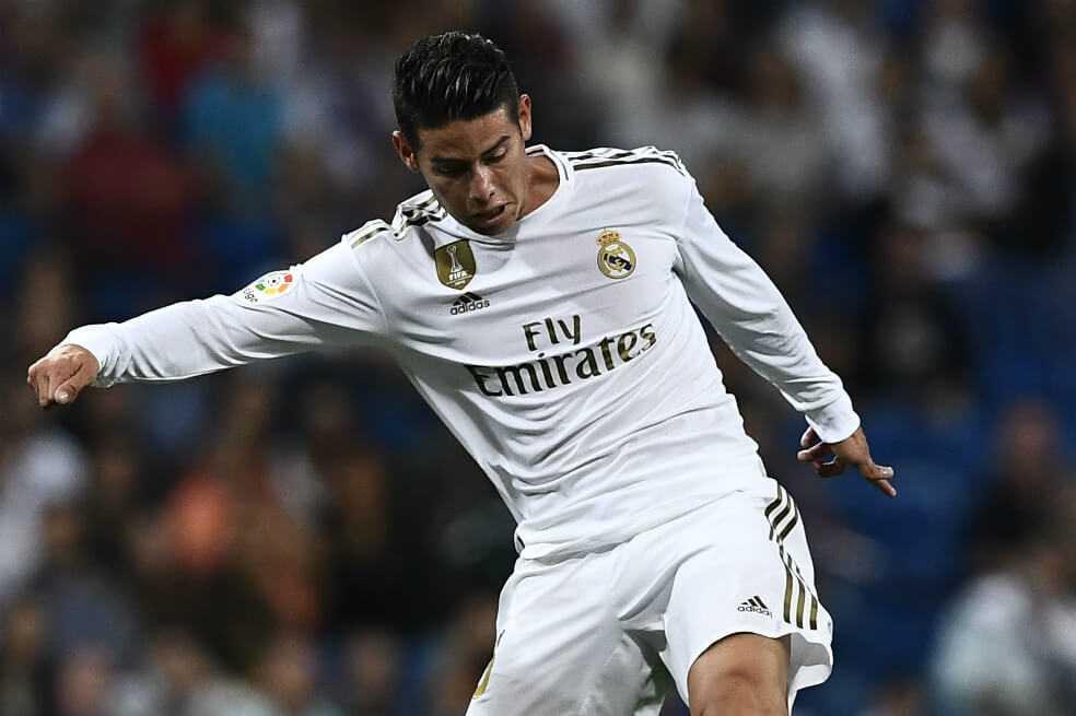 James, desde el minuto 82 en triunfo de Real Madrid ante Osasuna
