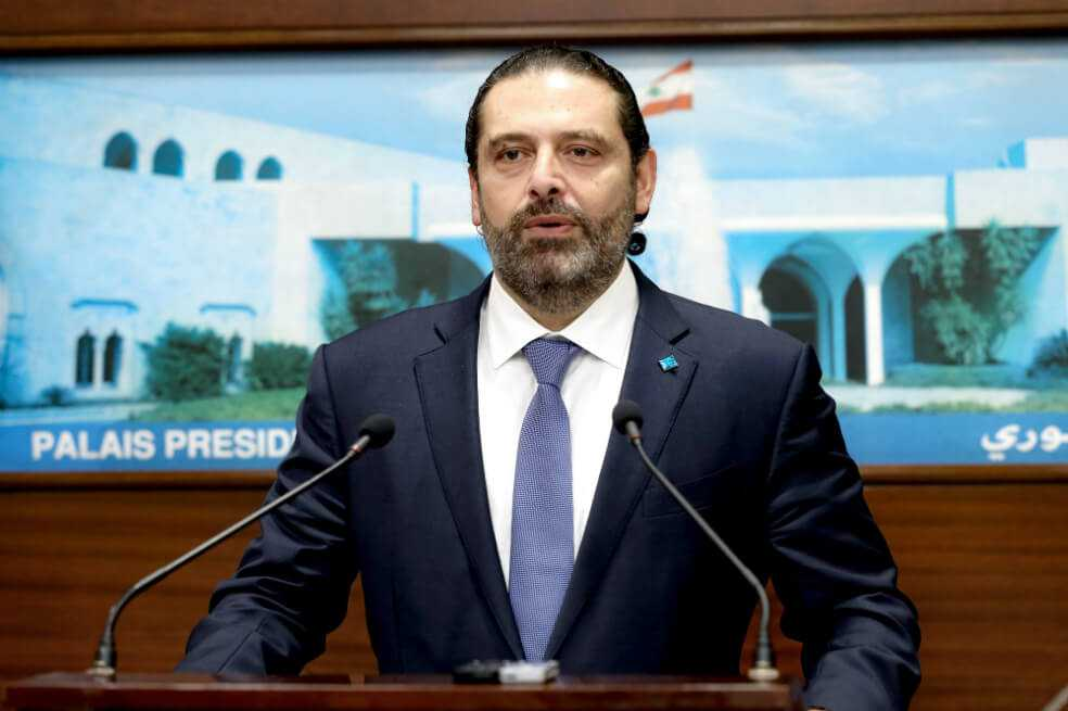 Primer ministro del Líbano, Saad Hariri, renuncia a su cargo presionado por protestas