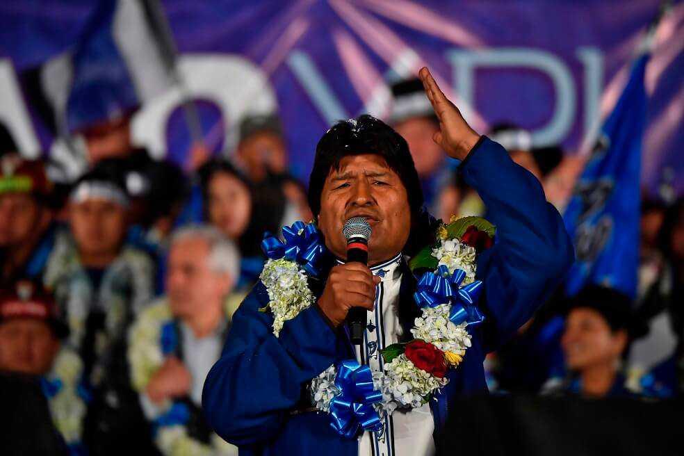 Evo Morales, cerca de eludir la segunda vuelta en Bolivia