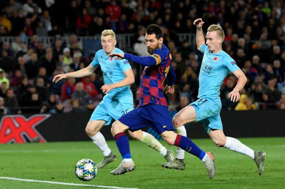 Barcelona no levanta: empató con Slavia Praga en el Camp Nou