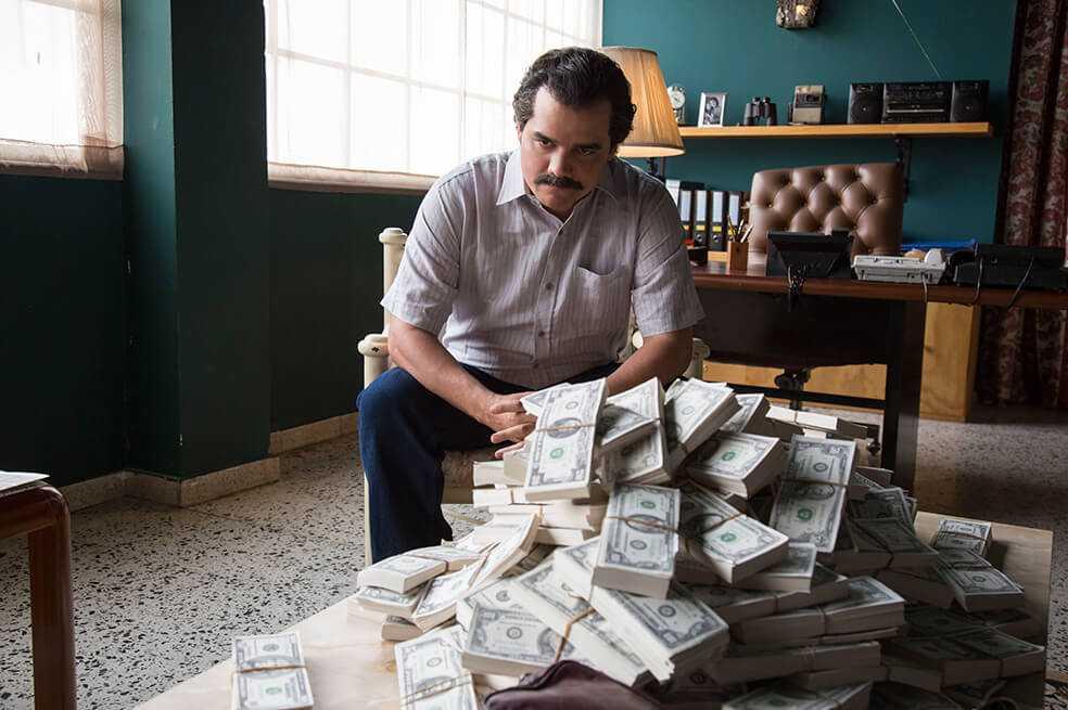 Serie «Narcos» se emitirá en el canal A&E en Latinoamérica