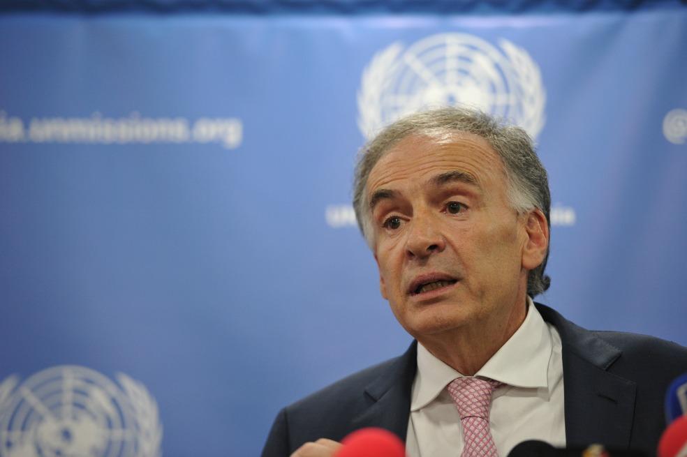 Jean Arnault, enviado de la ONU para ayudar a solucionar crisis en Bolivia