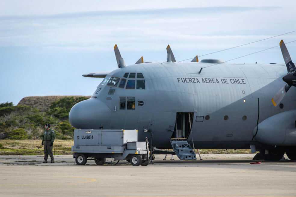 Hallan restos de avión que podrían pertenecer a la aeronave chilena desaparecida