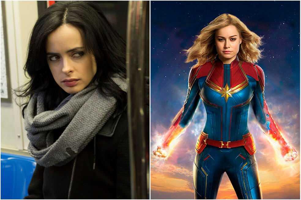Habrá dos superhéroes LGBT en la Fase 5 de Marvel: ¿Capitana Marvel y Jessica Jones?